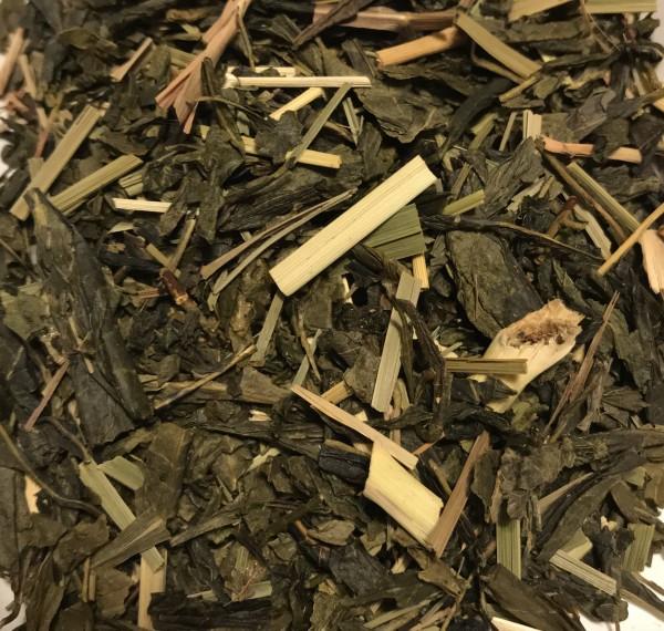 Lemon, Grüner Tee, Teehaus Taucha